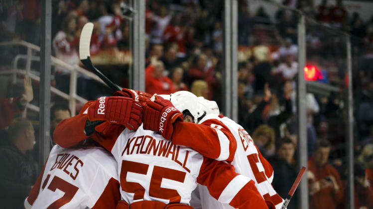 NHL: Nashville Predators at Detroit Red Wings