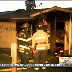 Vacant Sacramento Home Goes Up In Flames