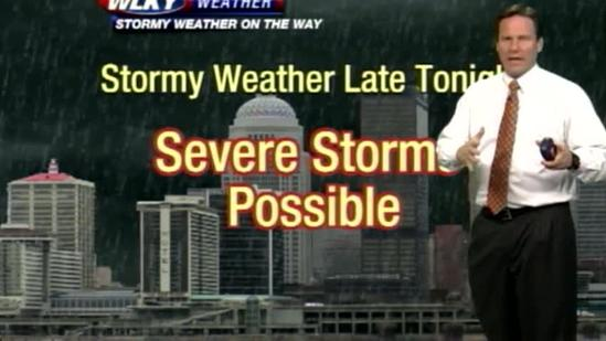 Weather Video Blog: Tracking overnight severe weather