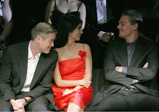 Clooney Cruz Di Caprio