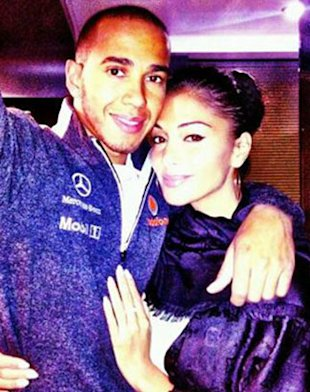 Nicole Scherzinger Wants More Time With Lewis Hamilton