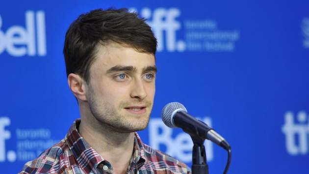 Daniel Radcliffe speaks at 'The F Word' Press Conference during the 2013 Toronto International Film Festival at TIFF Bell Lightbox on September 8, 2013 in Toronto -- Getty Images