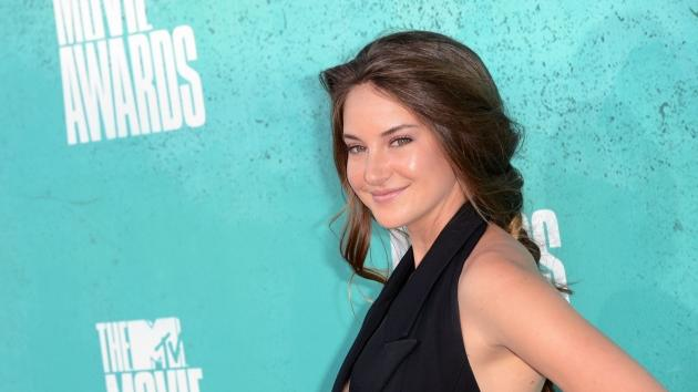 Shailene Woodley arrives at the 2012 MTV Movie Awards held at Gibson Amphitheatre in Universal City, Calif. on June 3, 2012  -- Getty Images