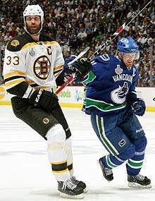 Bruins, Canucks deal with Stanley Cup hangover