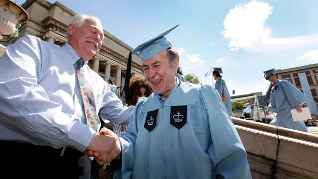 Columbia University Janitor Graduates With Honors