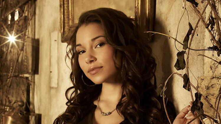 "Jessica Parker Kennedy star as Melissa in ""The Secret Circle."""