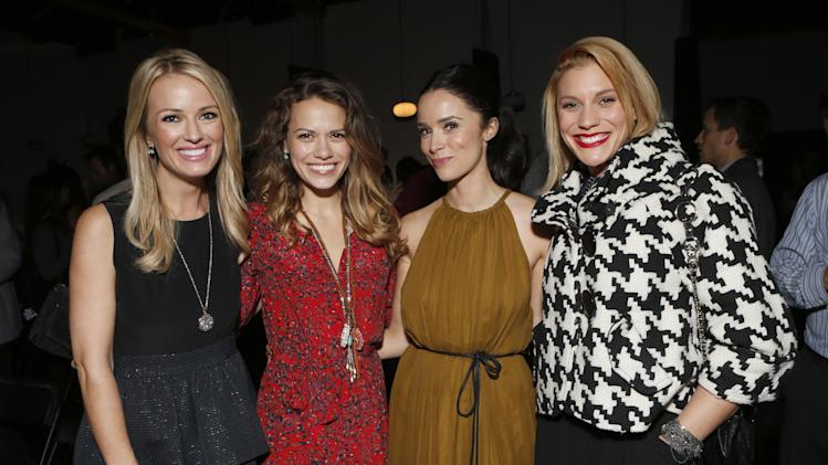 Brooke Anderson, Bethany Joy Lenz, Abigail Spencer and Katee Sackhoff attend the 3rd Annual Witness Uganda Concert Presented by Siren Studios to Benefit UgandaProject on Thursday December 6, 2012 in Los Angeles, California. (Photo by Todd Williamson/Invision for UgandaProject/ AP Images)