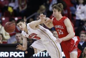 Maryland tops Cornell 70-62 for 7th straight win