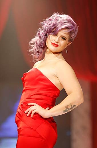 Kelly Osbourne at New York Fashion Week on Feb. 6, 2013