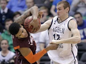 Haws' 42 leads BYU past Virginia Tech 97-71