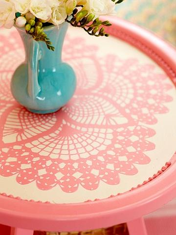 Doily Side Table