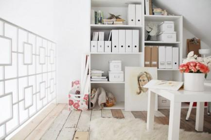 Katie Stratton's Loft Home Office