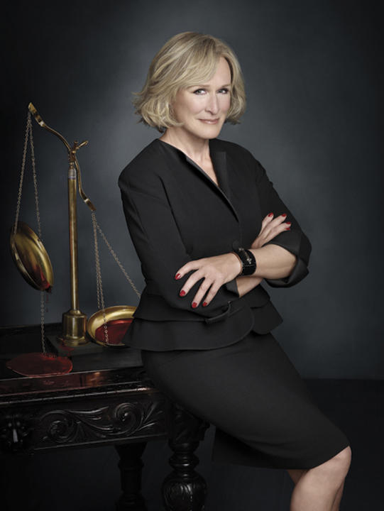 Outstanding Lead Actress in a Drama Series: Glenn Close,