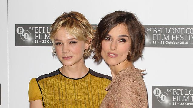 Never Let Me Go UK Premiere 2010 Carey Mulligan Keira Knightley