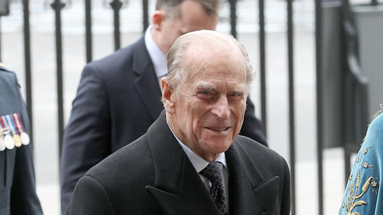 The Duke Of Edinburgh Attends The Commonwealth Day Observance At Westminster Abbey