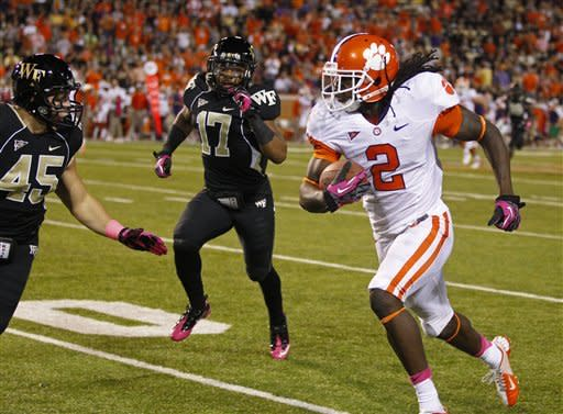 Boyd leads No. 14 Clemson past Wake, 42-13