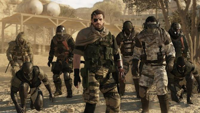 Metal Gear Online launches in October on consoles, next year on PC