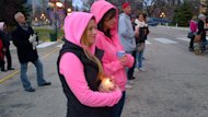 A vigil to honour Amanda Todd attracted people to the Manitoba Legislature Friday.