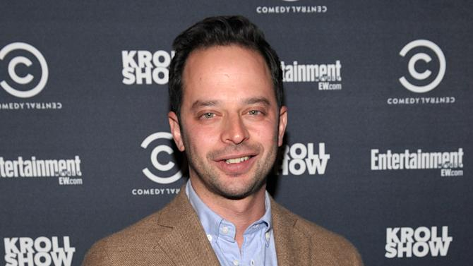 """IMAGE DISTRIBUTED FOR ENTERTAINMENT WEEKLY - Actor/comedian Nick Kroll attends an exclusive screening of Comedy Central's """"Kroll Show"""" hosted by Entertainment Weekly on Tuesday, January 15, 2013 at LA's Silent Movie Theatre in Los Angeles. (Photo by John Shearer/Invision for Entertainment Weekly/AP Images)"""