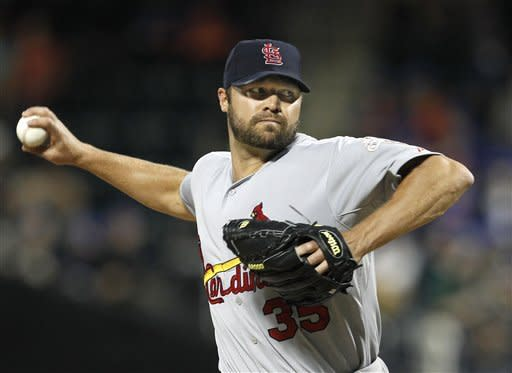 Niese strikes out career-high 10, Mets beat Cards