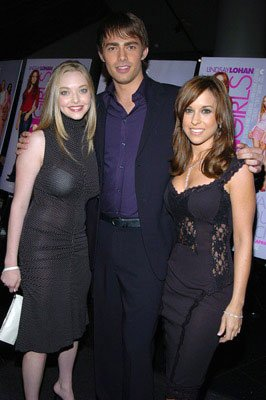 Amanda Seyfreid , Jonathan Bennett and Lacey Chabert at the New York premiere of Paramount's Mean Girls