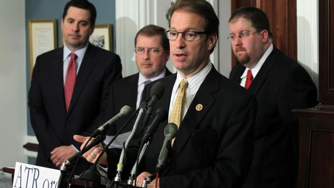 Americans for Tax Reform, Grover Norquist's anti-tax group, is opposed to expanding the IRS to implement ObamaCare.