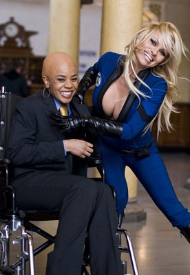 Regina Hall and Pamela Anderson in Dimension Films' Superhero Movie