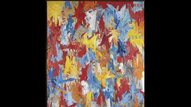 """""""False Start, 1959""""  by Jasper Johns, sold for $80.0 million 2006."""