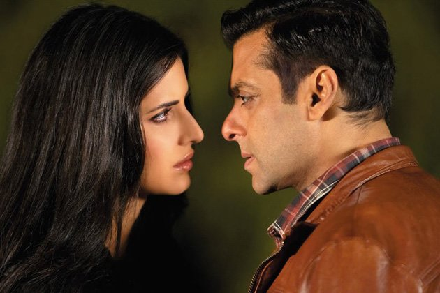 Katrina and Salman in a still from Ek Tha Tiger