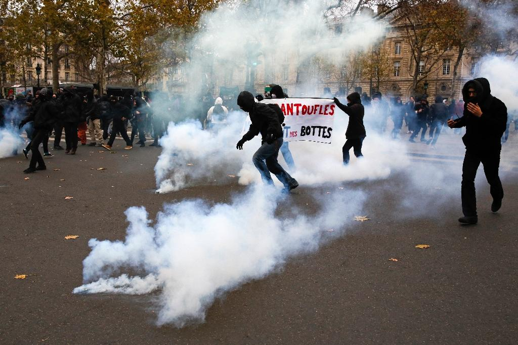 Massive rallies for the climate, but violence in Paris