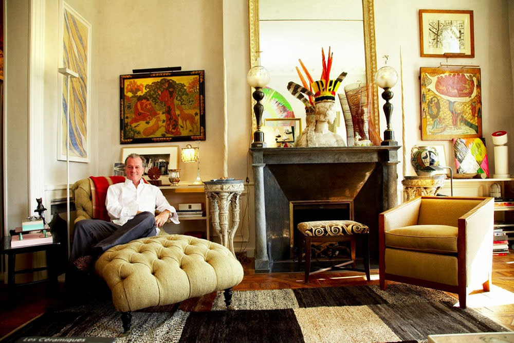 Curbed Features: An Afternoon With Jacques Grange, Fearless Decorator for YSL, Valentino, and the World's Royalty