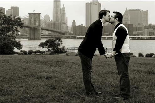 This Couple's Wedding Photo Was Turned into an Anti-Gay Political Smear Ad