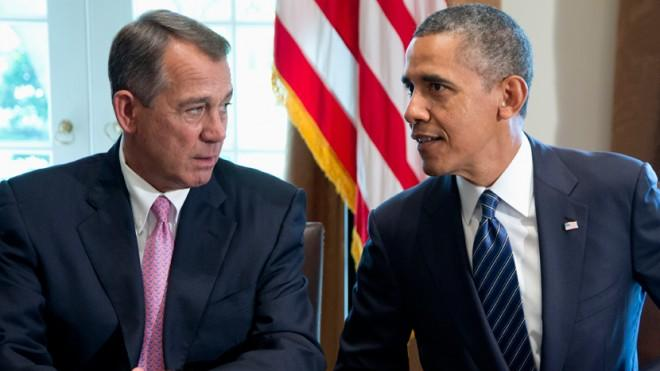 Obama may decide he doesn't need Boehner after all.
