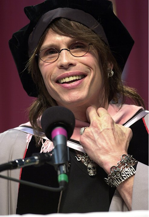 Aerosmith's Steven Tyler Receives Honorary Doctorate