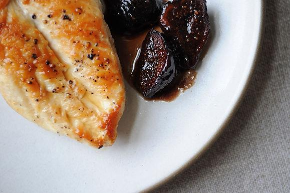 Chicken with Figs, Wine, and Honey