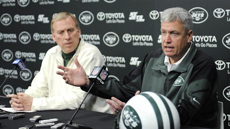 Jets' Rex, Idzik show unified front into offseason