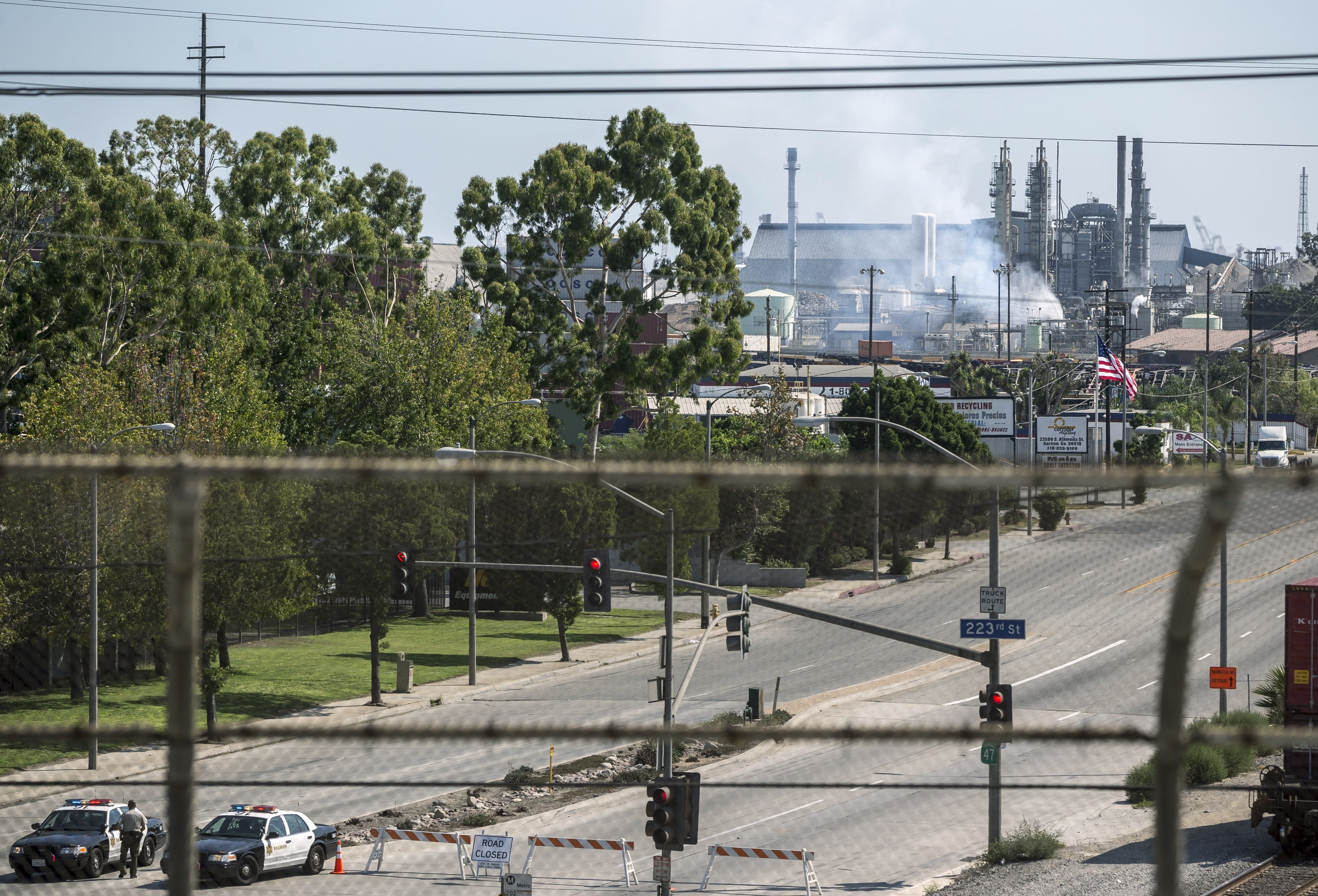 Tank explodes at California refinery; no injuries reported