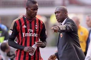 Clarence Seedorf: At times, it's better to leave Balotelli alone