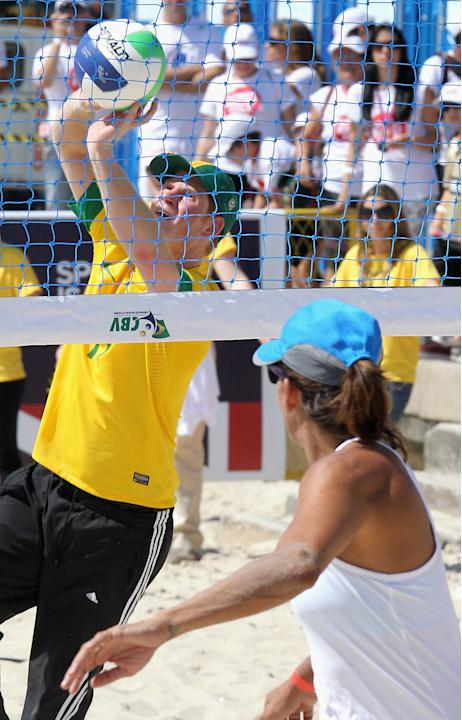 Prince Harry Visits Brazil - Day Two