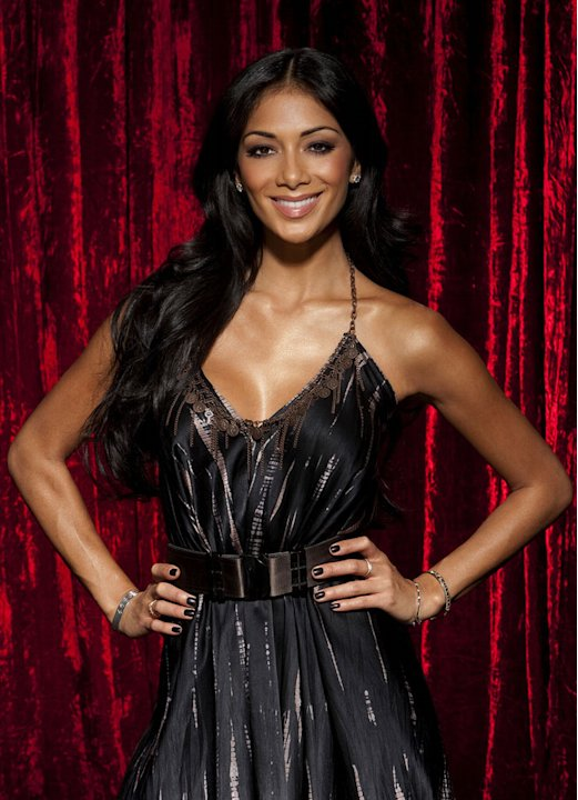 "Nicole Scherzinger of ""The Sing Off."""
