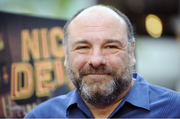 "FILE - This May 20, 2013 file photo shows actor James Gandolfini at the Los Angeles premiere of ""Nicky Deuce"" in Los Angeles. HBO and the managers for Gandolfini say the actor died Wednesday, June 19,"
