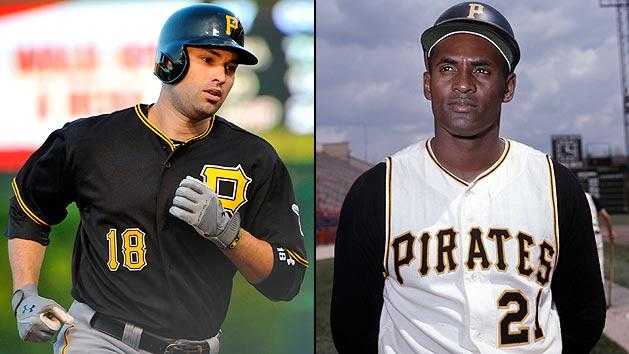 Neil Walker and Roberto Clemente