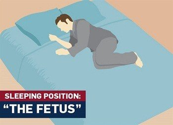 Fetus-sleeping-position