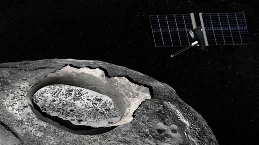 Strange Metal Asteroid Targeted in Far-Out NASA Mission Concept