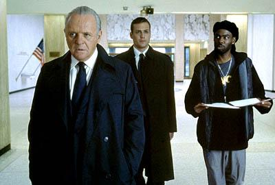 Anthony Hopkins , Gabriel Macht and Chris Rock in Touchstone's Bad Company