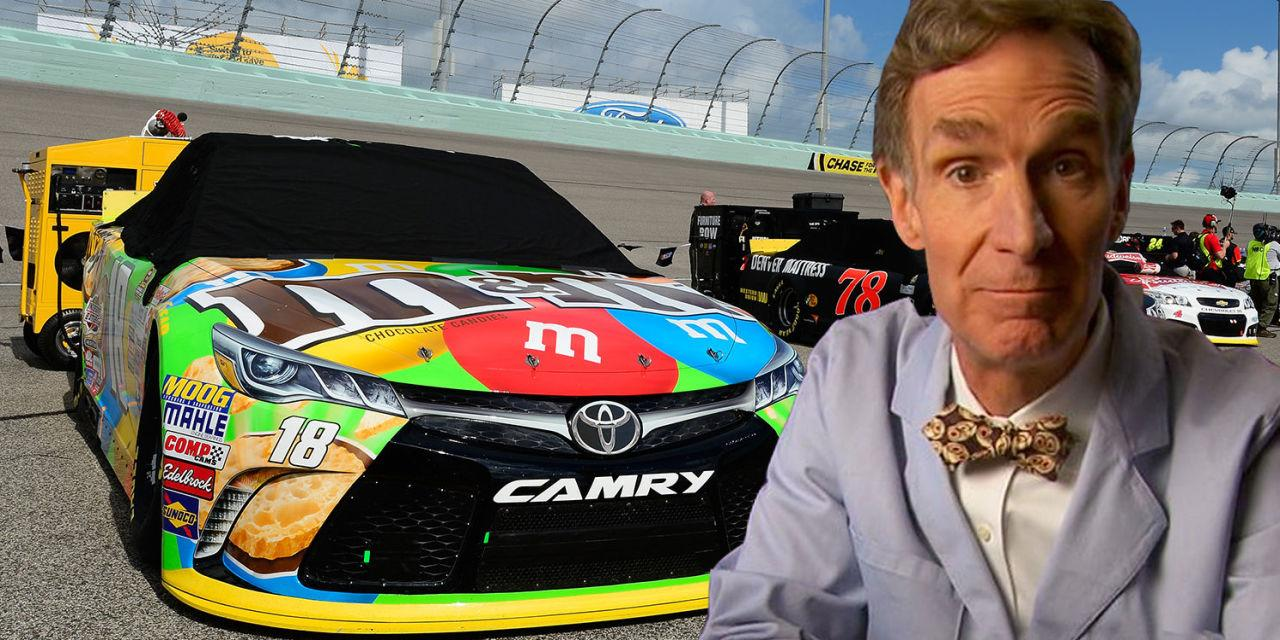 Bill Nye the Science Guy Thinks NASCAR Should Switch to Electric Cars