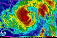 &lt;p&gt;This NOAA GOES colorized satellite image shows Tropical Storm Isaac over the Gulf of Mexico, heading on track towards the US state of Louisiana.&lt;/p&gt;