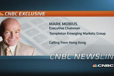 Mobius: Not worried about a hard landing in China