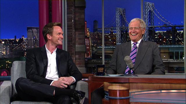 David Letterman - Neil Patrick Harris' Tony Awards Preview