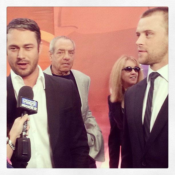 Taylor Kinney and Jesse Spencer